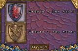 Dungeons & Dragons: Eye of the Beholder Game Boy Advance Party Creation screen (alignment)