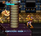 "Iron Commando: Kotetsu no Senshi SNES ""Computers room"" *stomp* ""Access denied!"""