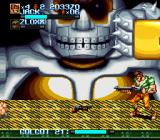 Iron Commando: Kotetsu no Senshi SNES Golgot 21 with fist stomp action