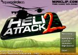 Heli Attack 2 Browser Title screen