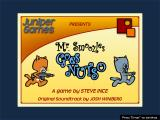 Mr. Smoozles Goes Nutso Windows Title screen