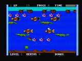 Frogger II: ThreeeDeep! PC Booter Start out underwater (PCjr with composite monitor)