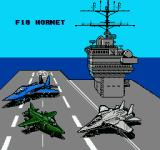 Ultimate Air Combat NES Choosing a plane to use