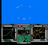 Ultimate Air Combat NES Getting shot down