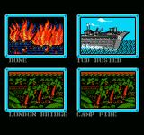 Ultimate Air Combat NES An updated mission select screen