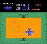 The Legend of Zelda NES This plant-thing called Manhandla is the boss in the third dungeon.