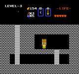 The Legend of Zelda NES Finding the raft!