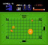 The Legend of Zelda NES If you buy the big shield (you start out with a small one), even fireballs like these can be blocked.