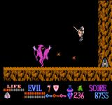 Wizards & Warriors NES A wraith!! Look out for the projectiles he's shooting.