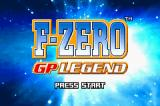 F-Zero: GP Legend Game Boy Advance Title Screen