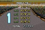 F-Zero: GP Legend Game Boy Advance Results