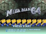 Mega Man Legends Nintendo 64 Title Screen