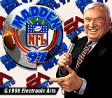 Madden NFL 97 SNES Title Screen