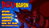 Red Baron Browser Title screen, two of the game modes are still locked.