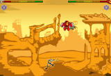Newgrounds Rumble Browser Fancy Pants fights P-Bot.