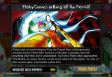 Newgrounds Rumble Browser Ending screen for one of the many story sequences