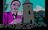 The Spy's Adventures in Europe DOS Do you want to drink a French wine, spy?...