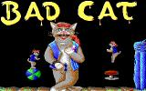Street Cat DOS title screen