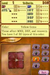 Children of Mana Nintendo DS Gems - they are quite important in this game