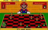Mario's Game Gallery DOS I Kinged him and he became Bowser.