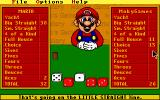 "Mario's Game Gallery DOS Oh it's ""Yahtzee""!"