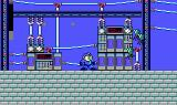 Mega Man DOS Running around the rooftops.