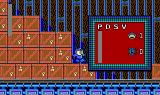 Mega Man DOS Checking my weapons in the warehouse.