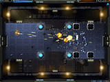 Robokill: Titan Prime Browser Explosions deform the terrain.