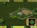Golf Resort Tycoon II Windows Cutting down some trees