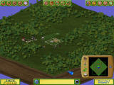 Golf Resort Tycoon II Windows Zoomed out view