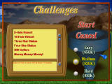 Golf Resort Tycoon II Windows Challenges screen