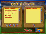 Golf Resort Tycoon II Windows Golf a course