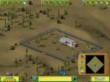 Golf Resort Tycoon II Windows Building on a desert