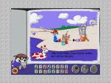 Stanley's Sticker Stories Windows From here, the player can add music and sound effects, including the sound of ocean waves