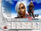 Virtua Fighter 4 PlayStation 2 Vanessa on the selection screen