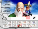 Virtua Fighter 4 PlayStation 2 Shun on the selection screen