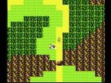 Zelda II: The Adventure of Link NES An overhead view of Hyrule