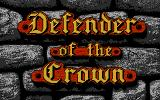 Defender of the Crown PC Booter Title Screen (EGA)