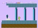 Zelda II: The Adventure of Link NES The entrance to a temple