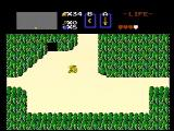 The Legend of Zelda NES Starting a new game