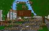 Crime City Atari ST Title screen