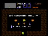 The Legend of Zelda NES Purchase items to help out on your quest