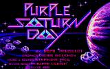 Purple Saturn Day Atari ST Title screen