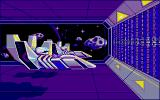 Purple Saturn Day Atari ST Loading screen for Ring Pursuit