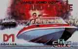 Ian Fleming's James Bond 007 in Live and Let Die: The Computer Game Atari ST Title screen