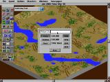 SimCity 2000 DOS Start of a new city