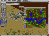 SimCity 2000 DOS A helpful map