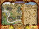 Fairy Jewels 2 Windows Map screen