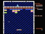 Arkanoid NES The first level