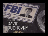 The X-Files Game Windows David Duchovny (from intro)